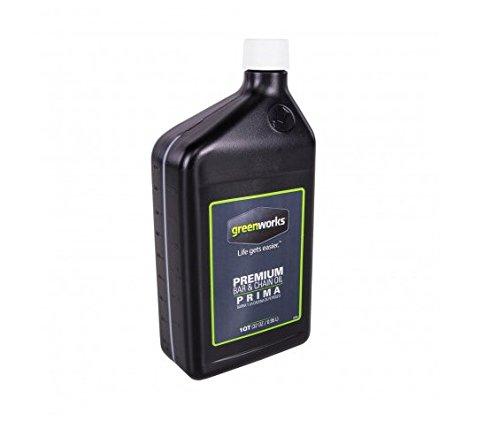 Greenworks Premium Bar and Chain Oil - Quart, GWBC0 by Greenworks