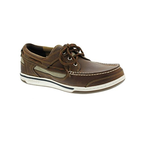 Sebago, 810-010, Triton Three-Eye Herren, Größe 43, Braun/Walnut
