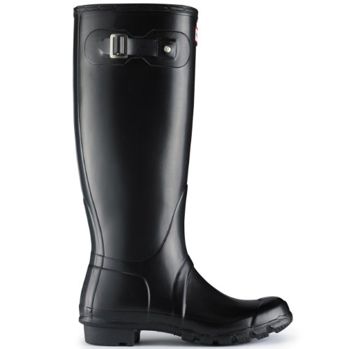 Mens Hunter Originale In Neoprene Inverno Neve Festival Pioggia Wellington Nero
