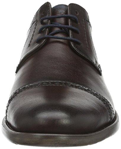 Bugatti 312163032100, Zapatos de Cordones Derby para Hombre Braun (d.braun 6100)