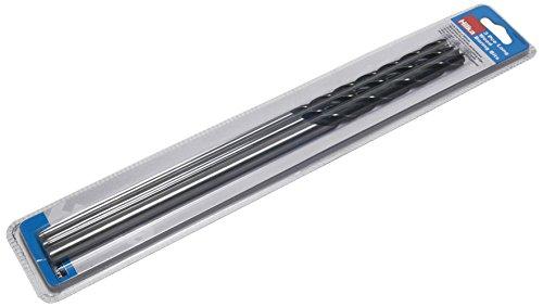 Hilka 49904003 Long Wood Boring Lip and Spur Drill Bit Set