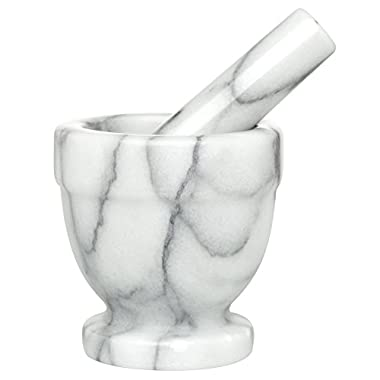HIC Mortar and Pestle, Solid Marble