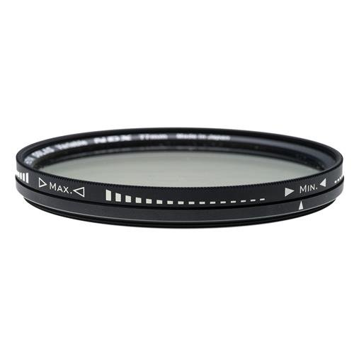 Hoya SOLAS 77mm NDX Variable Neutral Density ND2.5 to ND450 Filter - XSL-77VDY by Hoya