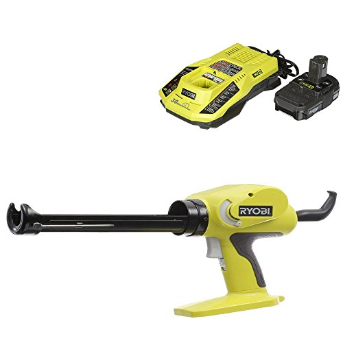 Ryobi 18-Volt ONE+ Power Caulk and Adhesive Gun with charger and battery ()