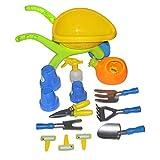 Kids Garden Toy Set/Children's Wheelbarrow Gardening Set,fit for kids 3 years up(14 pcs)