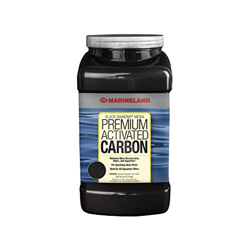 MarineLand Black Diamond Media Premium Activated Carbon (Best Saltwater Aquarium Filter)