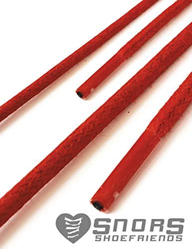 Colorate Lacci Colori Lunghezze Rosso Colorati Scarpe 19 Mm Stringhe 2 Cerate Rotondi Snors 3 3 Per 60qwdaX6
