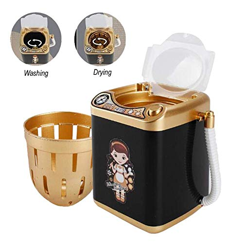 ZDU Makeup Brush Cleaners Cleaner Automatic Cleaning Washing Machine Electronic Cleaning Machine Washing Tools Cleaning Brushes Mini Toy for Cosmetic Make Up Brushes Makeup Eggs Powde