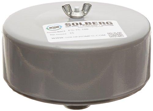 Intake Silencer - Solberg FS-15-100 Filter Silencer, 1