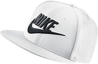 Nike Futura True Gorra, Unisex Adulto, Blanco (White/Black), Talla ...