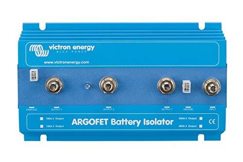 VICTRON ENERGY ARG100201020 Argo FET Battery Isolator, 100A, 3 Batt.