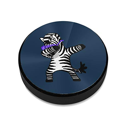 Magnetic Car Mount for Car, Kitchen, Bedside, Bathroom, Dab Dance Zebra Dabbing Car Phone Mount with A Super Strong Magnet Compatible with All Smartphones and Mini Tablets