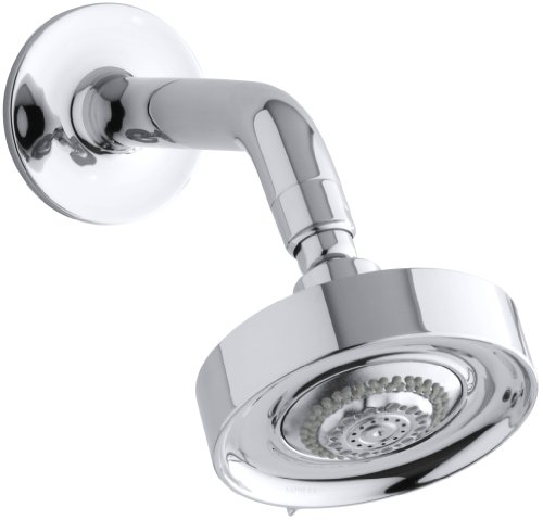 KOHLER K-966-CP Taboret Multifunction Showerhead, Polished Chrome - Shower Taboret