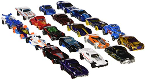Hot Wheels 20 Cars Gift Pack, Styles May Vary (Die Cast Promotions 1 64 Scale Trucks)