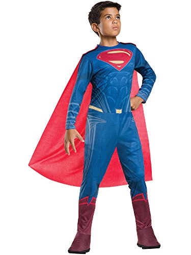 superman+costumes Products : Rubie's Costume Batman v Superman: Dawn of Justice Superman Tween Value Costume