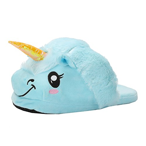Shoes Cartoon Animal Household Slippers Blue Size Unisex Cotton One Cosplay vfrRy4v