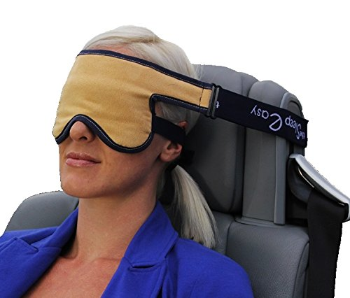 Best Travel Pillow Alternative - The Sleep EasyTM® - Travel Eye Mask with Neck Support. Perfect Rest On Any Transport, Grips To Any Seat Headrest - 4 Colours Available (Upright Sleep compare prices)