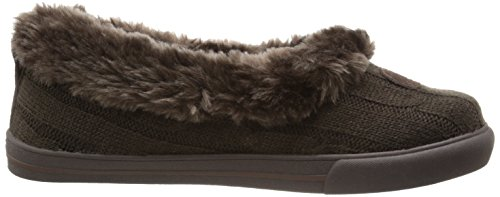 BOBS from Skechers Womens Mad Crush Snuggle-In Slipper Chocolate Knit GtN8cd