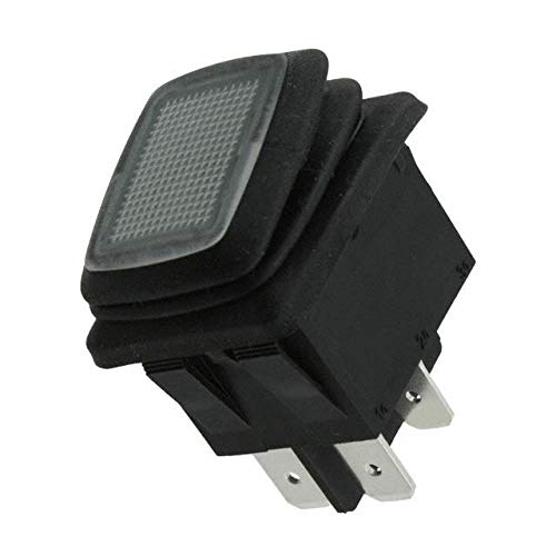 SWITCH ROCKER DPST 20A 125V (Pack of 5) (GRB285A8L101GR4) by CW Industries