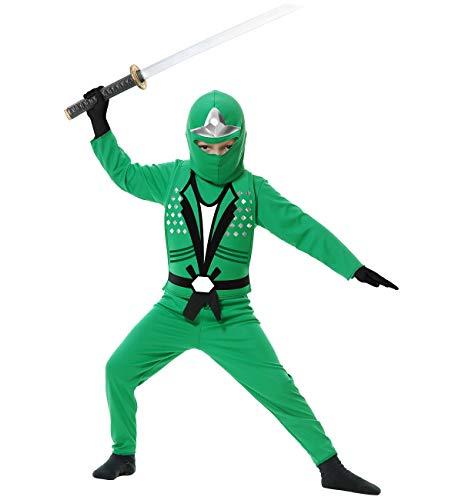 Big Boys' Ninja Avengers Series Ii Green Costume - XL -