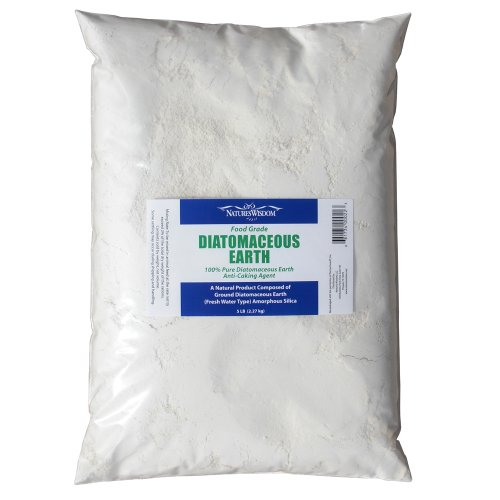 food grade diatomaceous earth jar - 5