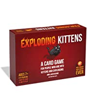 Exploding Kittens LLC - A Russian Roulette Card Game, Easy Family-Friendly Party Games - Card Games for Adults, Teens & Kids - 2-5 Players (Model number: EKG-ORG1-1)