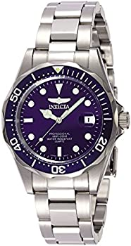 Invicta 9204 Men's Pro Diver Stainless Steel Blue Dial Watch