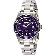 Men's 9204 Pro Diver Collection Silver-Tone Watch