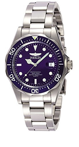 Invicta Men's 9204 Pro Diver Collection Silver-Tone Watch (Collection Scuba)