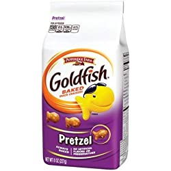 Pepperidge Farm Goldfish, Pretzel, 8-ounce bag (pack of 8)