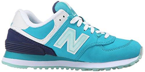 Deportivas New Nubuck Blue Teal Mujer Para BalanceWL574 B Zapatillas ztxqw4tS