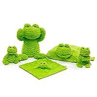 FRANKIE ZHOU Stuffed Animal Cute Hippo Plush Toy -5 Pieces