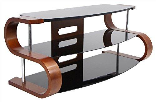 WOYBR TV-SW-TS Bent Wood, Glass Modern Metro ()