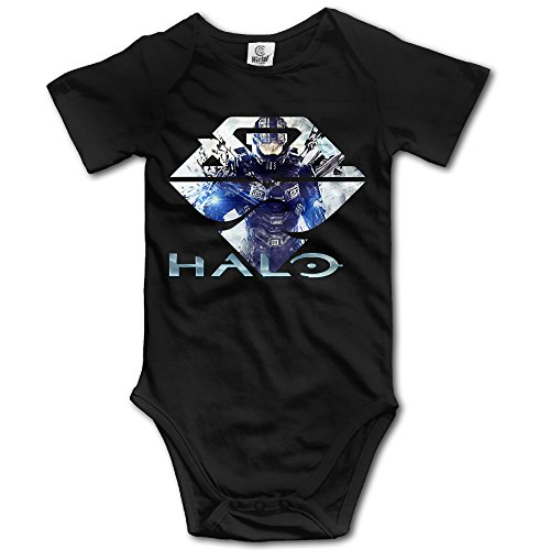 Unisex BabyBaby Girlsl The Master Chief Of Halo 5 Short-Sleeve Bodysuits (Halo Suits For Kids)