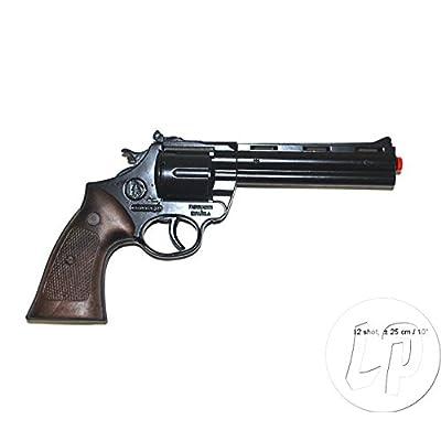 Pistolet métal 12 coups 25cm- Jouet - Qualité COOLMINIPRIX®
