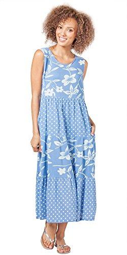 caroline blue dress - 9