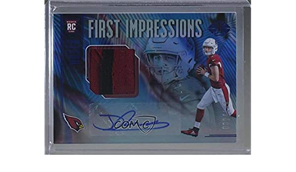9905bbf7f6d Amazon.com  Josh Rosen  82 100 (Football Card) 2018 Panini Illusions -  Base   - Trophy Collection Blue  120  Collectibles   Fine Art
