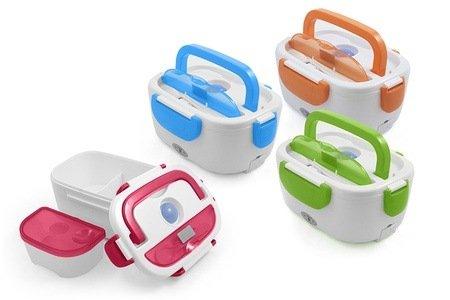 scaldavivande elettrico portatile ideale per il pranzo in
