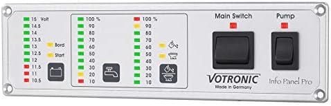 Votronic 6330 Info Panel Pro 24v Elektronik