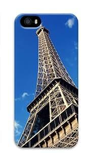 Lilyshouse Paris Eiffel Tower 003 Iphone 5 5S Hard Protective 3D Cover Case