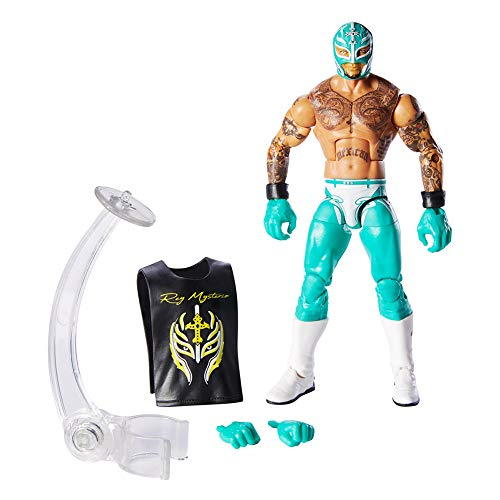 WWE Rey Mysterio Elite Collection Action Figure (Wwe Action Figures 2010)