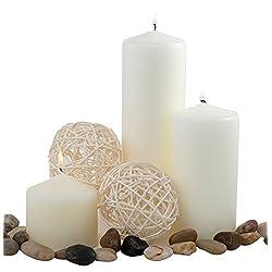 Pillar Candle for Wedding, Birthday, Holiday &