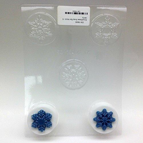 Snowflakes Soap/Tart Mold - 5 Cavity