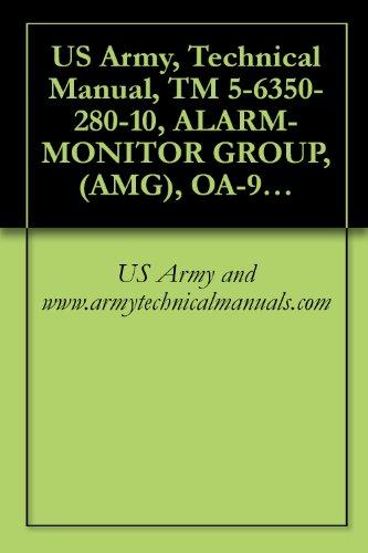 US Army, Technical Manual, TM 5-6350-280-10, ALARM-MONITOR GROUP, (AMG), OA-9431/FSS-9(V CAGEC 97403