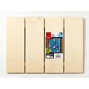 """Plaid Wood Surfaces, Large Pallet Plaque, size: 11.8"""" x 15.8"""""""