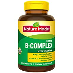 Nature Made Super B Complex + Vitamin C ...