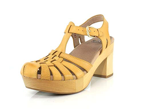 Earth Shoes Oak Cerris Women's Amber Yellow 7.5 Medium US