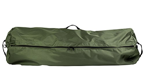Northstar Tactical 1050 HD Tuff Cloth Diamond Rip Stop Side Load Gear Duffle Bag, 30 x 50, Olive