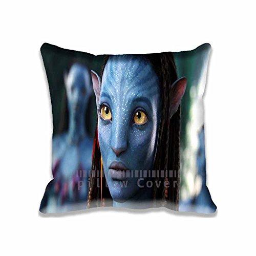 Custom Design Neytiri Avatar Movie Pillow Cases Zippered , 16x16 Square Movies Pillowcase - Avatar Cushion Covers Two Size (Sexy Neytiri)