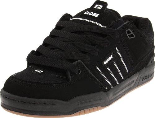 Globe Men's Fusion Skate Shoe,Black/Gum,8.5 D US